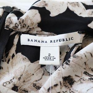 Banana Republic Tops - NEW Banana Republic Floral Zip Back Sleeveless Top